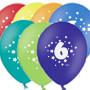"""Воздушные шары цифра """"6"""""""