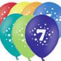 """Воздушные шары цифра """"7 """""""