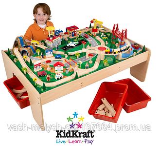 Игровой стол KidKraft 17850 Железная дорога Горный водопад