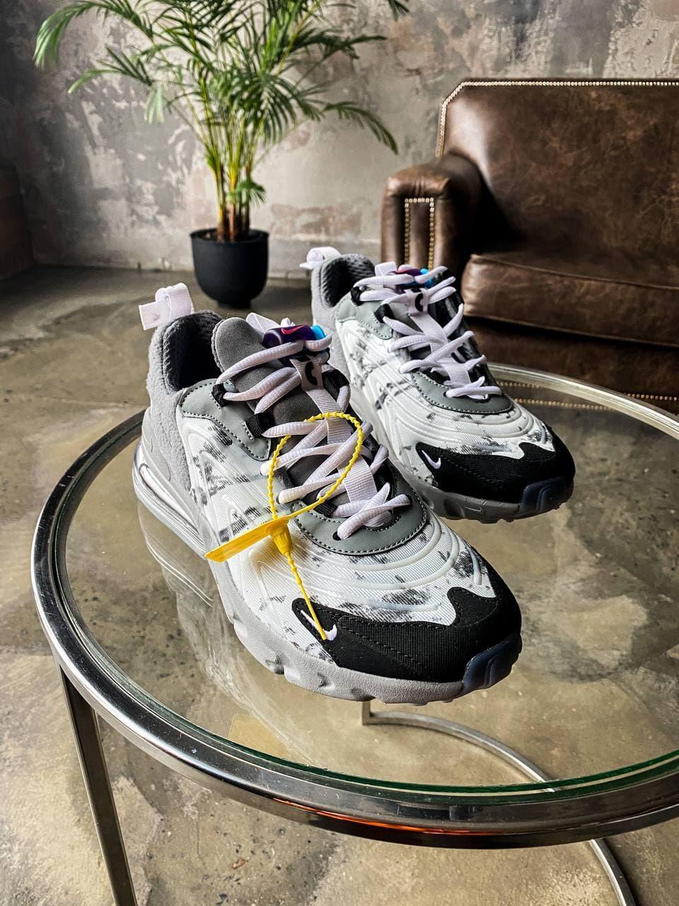 """Чоловічі кросівки Nike Air Max 270 React Eng """"Grey""""'"""