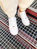 """Чоловічі кросівки Nike Air Force Low """" White """", фото 2"""