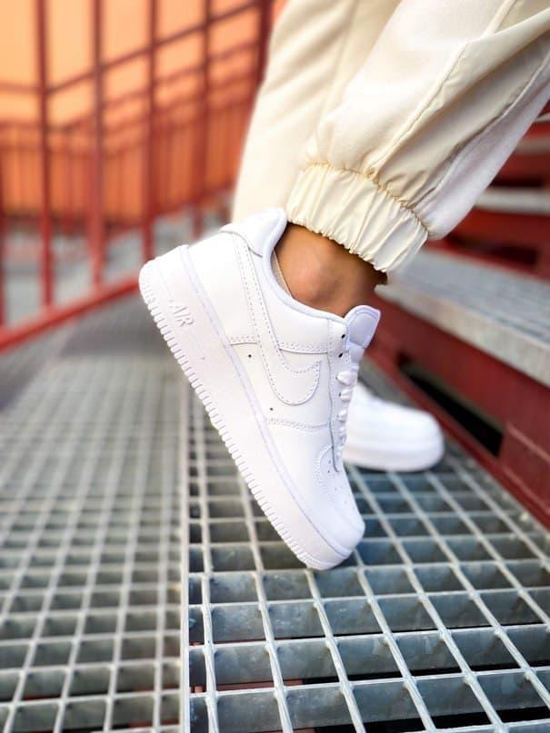 """Женские кроссовки Nike Air Force Low """" White """""""