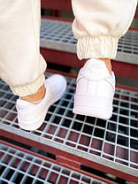 "Женские кроссовки Nike Air Force Low "" White "", фото 3"