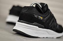 Мужские кроссовки New Balance 997H Black White, фото 3