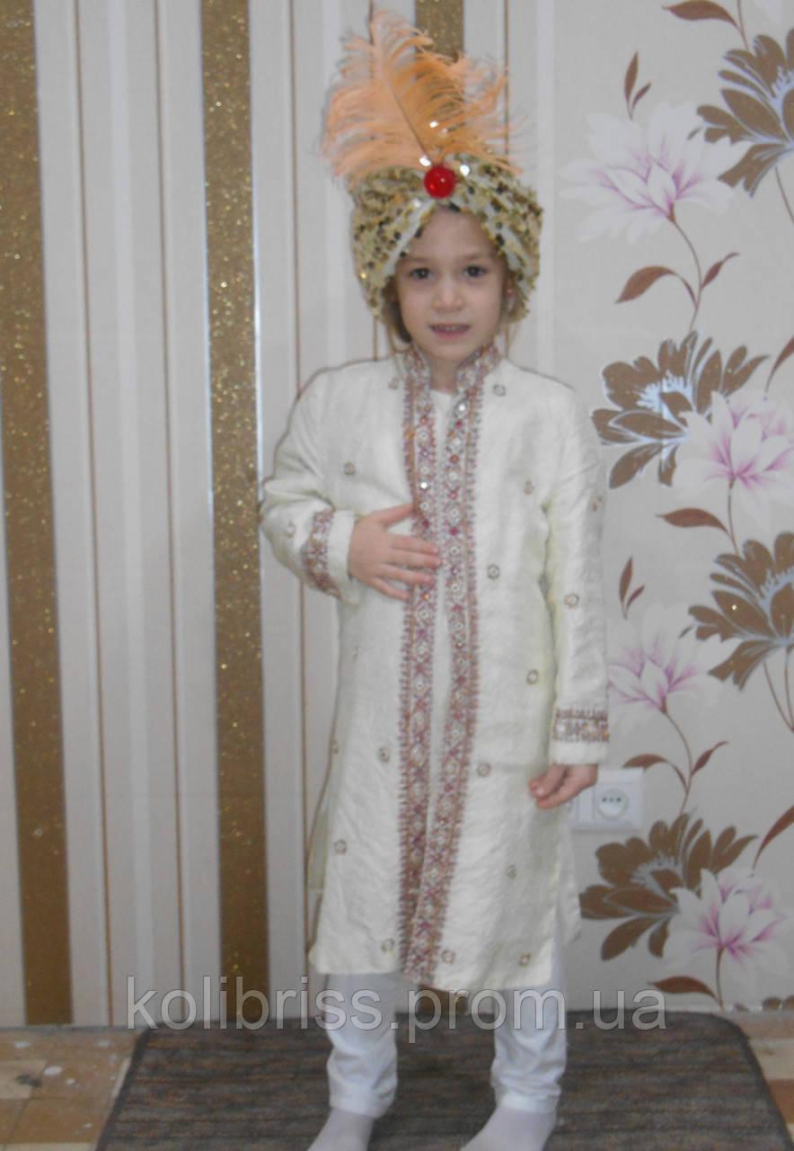 Костюм султана прокат. Костюм восточного принца прокат Киев