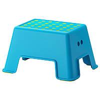 Табурет-лестница детский IKEA BOLMEN Синий (902.913.30)