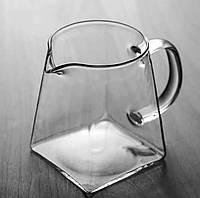 Молочник стекло Карл 340 мл Olens DG1038 стеклянный