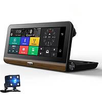 Видеорегистратор на торпеду Noisy DVR T7 GPS с двумя камерами 1/8 Gb IPS Black (3sm_756970130)