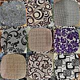 Чехлы накидки на стульчики и табуретки | Комплект 4шт размер табуретки от 30см до 34см. Высокое качество, фото 4