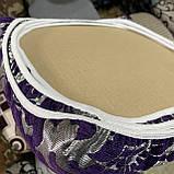 Чехлы накидки на стульчики и табуретки | Комплект 4шт размер табуретки от 30см до 34см. Высокое качество, фото 3