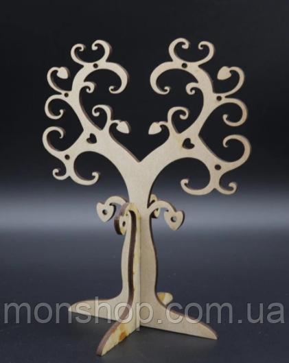 Дерево для украшений.  19х15 см