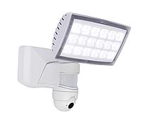 Светодиодный прожектор  Lutec Peri  7629501331 (6295-PIR-5K wt) с датчиком движения 16W/4000K, IP54, фото 1