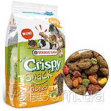 Корм-лакомство для грызунов Versele-Laga Crispy Snack Fibres Верселе-Лага Мюсли Снэк Фибра, 0.65 кг