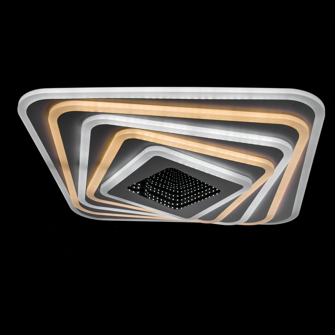 Накладная светодиодная люстра с диммером P5-YH108/227W/