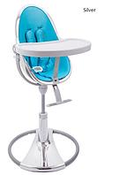 Детский стульчик для кормления Bloom Fresco Chrome Silver (вкладыш в комплекте)