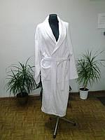 Большой махровый халат белый ХХL (р.54-56) Пакистан
