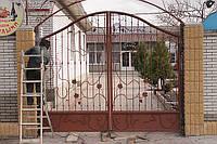 Ворота из металла кованые, фото 1