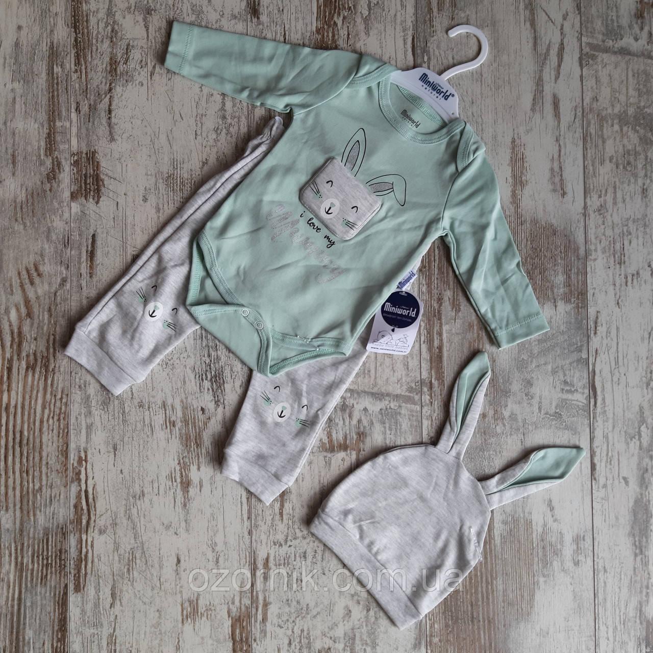 Оптом Набор Одежды для Новорожденных Малышей 3-9 мес. Турция