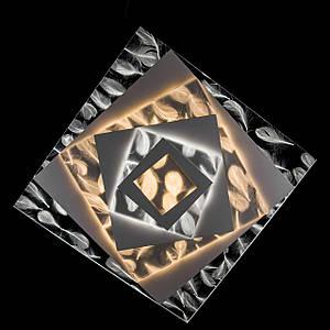 Накладна світлодіодна люстра з діммером (Пір'я) P5-Y1681/146W
