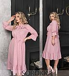 Платье женское летнее  большого размера 50-52,54-56,58-60, фото 3