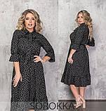 Платье женское летнее  большого размера 50-52,54-56,58-60, фото 6