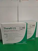 ТЕРАФІЛ 21 ХІМІЧНИЙ КОМПОЗИТ А2 І А3 ЛАТУС ХАРКІВ,Терафил 21 (THERAFIL-21) гібридний композит, набір Latus