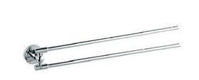 Настінний тримач рушників подвійний лінійний Maxiflow A. 3618
