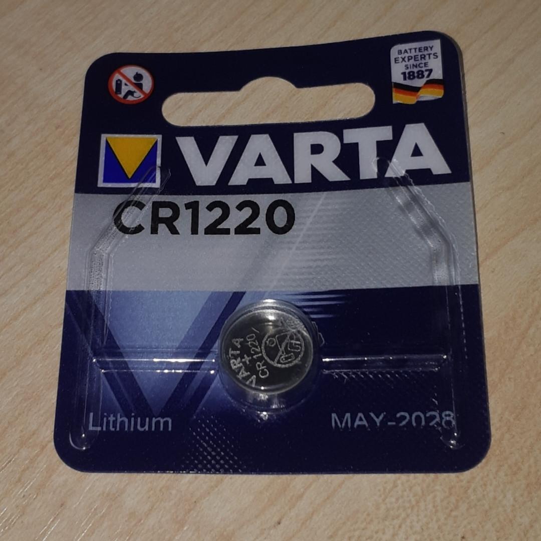 Дисковая батарейка VARTA Lithium Cell 3V  CR1220 (35mAh) (C1)