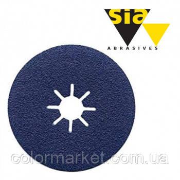 Фібровий круг 4819 Siaron 115/22 мм P120 синій Т6411.0120.6