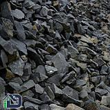 Камінь для габіонів базальт 80-120 мм в біг-бегах, фото 4