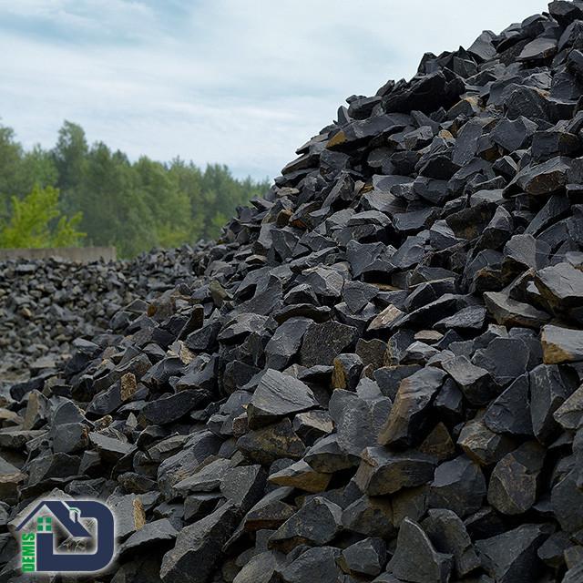 Камінь для габіонів базальт 80-120 мм в біг-бегах