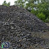 Камінь для габіонів базальт 80-120 мм в біг-бегах, фото 2