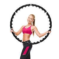Масажний обруч хулахуп Massaging Hoop Exerciser / Обруч для схуднення