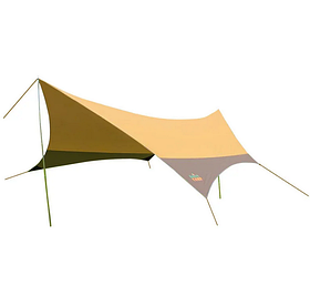 Тент GC-0886Y, коричневый 560*500*250 см