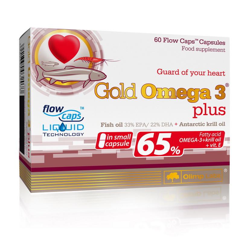 Риб'ячий жир Olimp Gold Omega 3 Plus 65% 60 caps