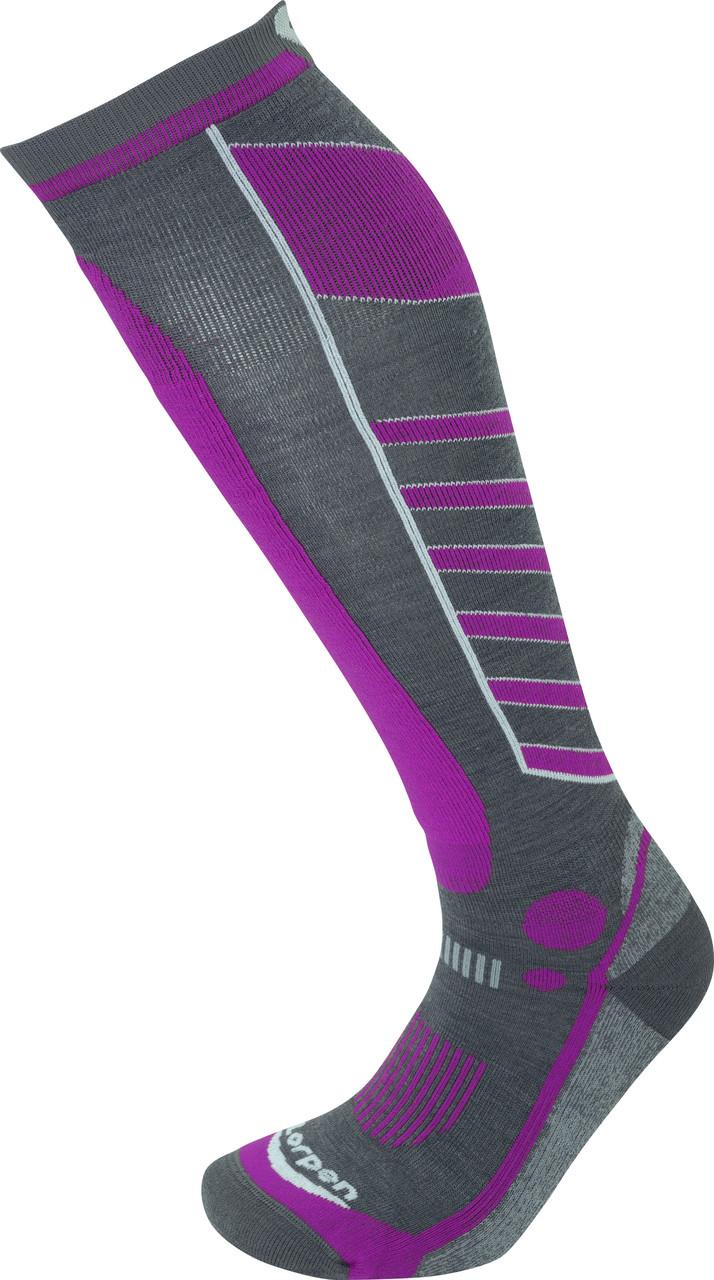 Шкарпетки Lorpen T3 Women's Ski Light S3WL Light Grey M (6210101 5846 M)