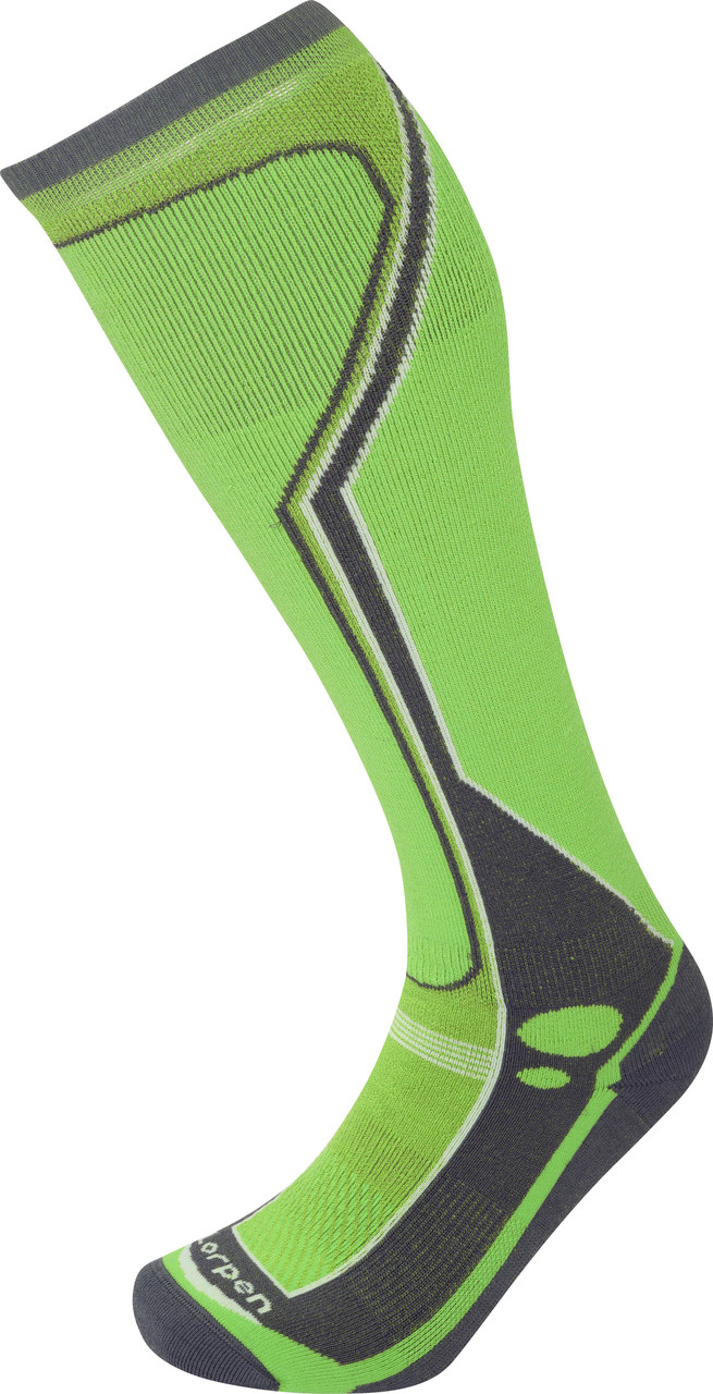 Носки Lorpen T3 Men's Ski Midweight S3SMM Green Lime M (6210098 5448 M)