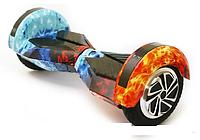 Гироскутер Smart Balance 8 дюймов LED гироборд с сумкой, огонь и лед