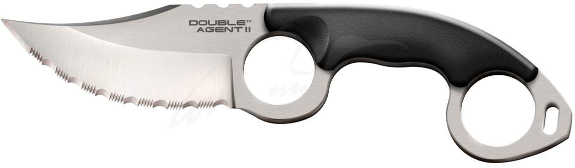 Ніж Cold Steel Double Agent II Serrated (блістер)