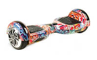 Гироскутер Smart Balance 6.5 дюймов, сумка, колонка, подсветка, самобаланс, оранжевый хип хоп