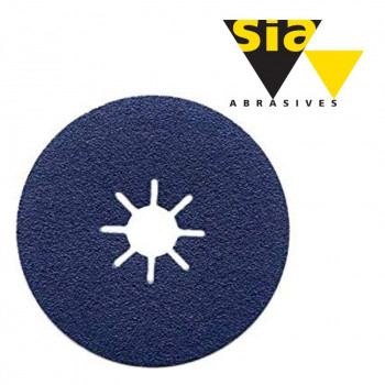 Фібровий круг 4819 Siaron 180/22 мм P60 синій Т6412.0060.6