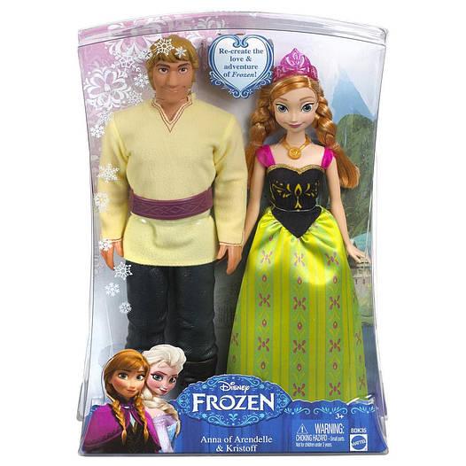 Frozen Набір ляльок Анна і Крістоф (Куклы Анна и Кристофф «Холодное Сердце», Disney Frozen Anna and Kristoff)