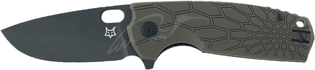 Ніж Fox Core Black Blade ц: оливковий