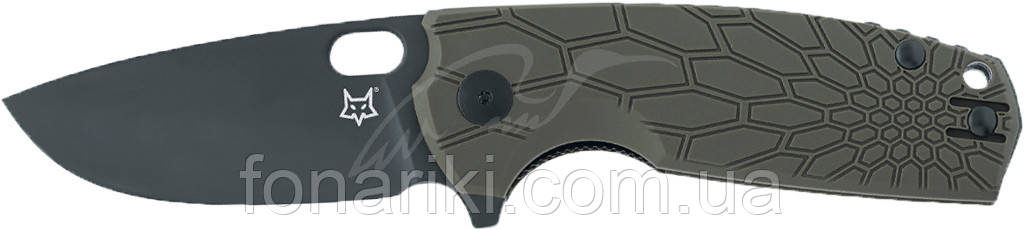 Нож Fox Core Black Blade ц: оливковый