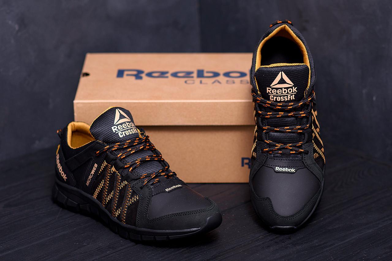 Мужские кожаные кроссовки  Reebok Crossfit