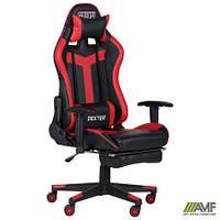 Кресло VR Racer Dexter Grindor черный/красный
