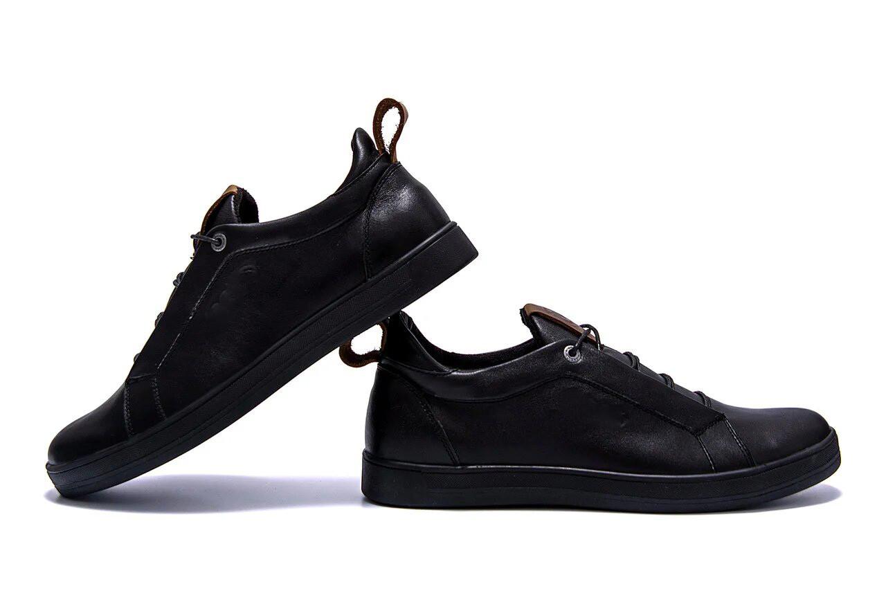 Мужские кожаные кроссовки E Collection