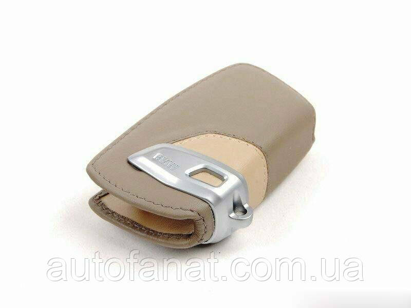 Футляр BMW для ключа Leather Key Case Modern Line, оригинальный кожаный (82292219914)
