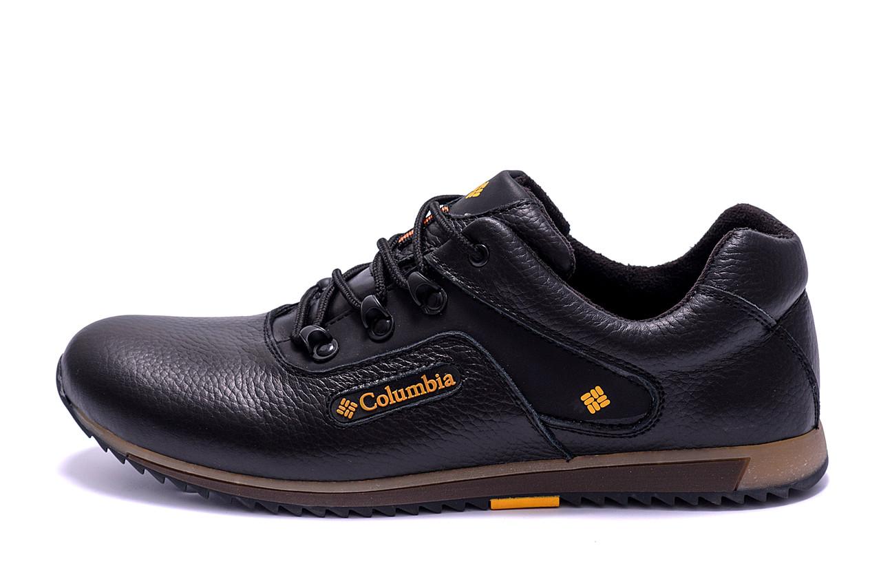 Чоловічі шкіряні кросівки Columbia New (репліка)