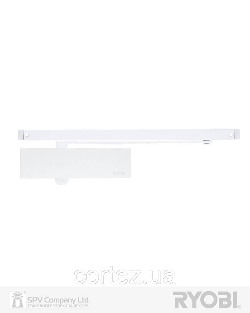 Доводчик накладной RYOBI 1200 D-1200T WHITE BC SLD_HO_ARM EN_3 60кг 950мм